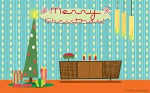Christmas 2010 - Retro