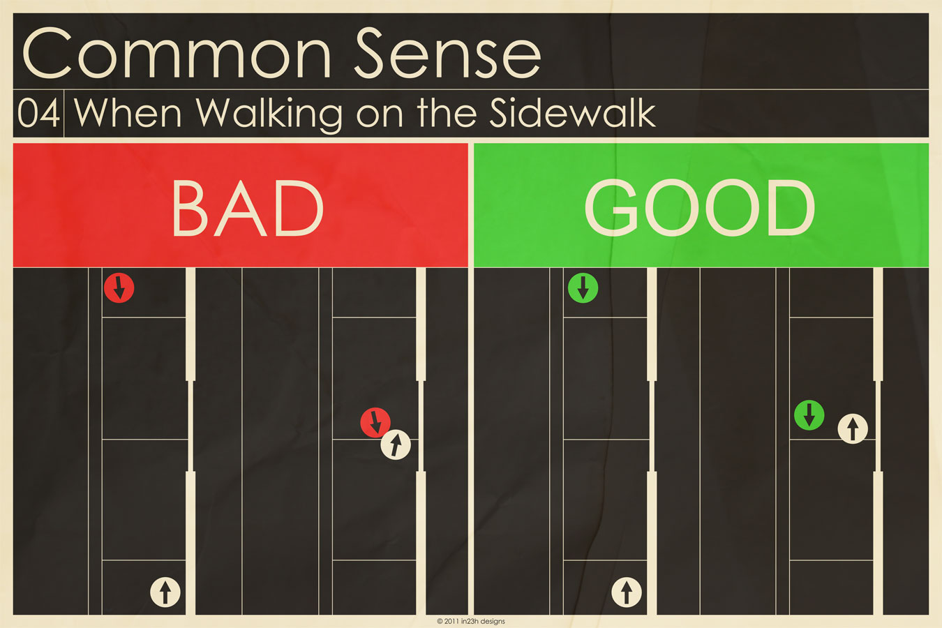 Common Sense 04 - Sidewalk