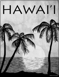Hawaii Black & White