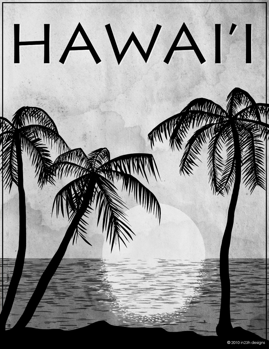 Hawaii Black & White